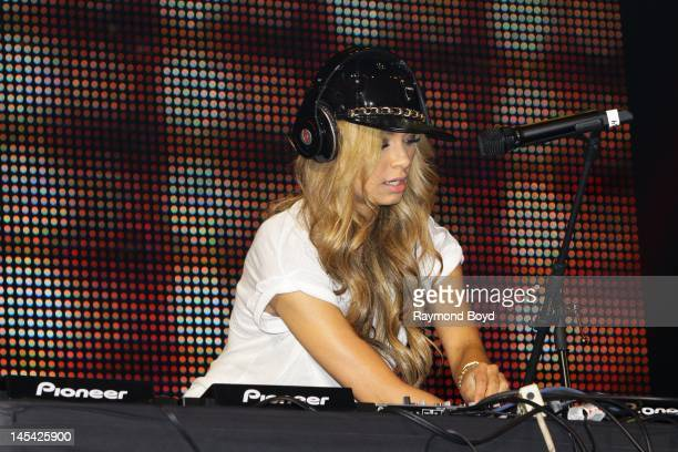 Deejay and singer Havana Brown, performs at the Allstate Arena in Rosemont, Illinois on MAY 18, 2012.