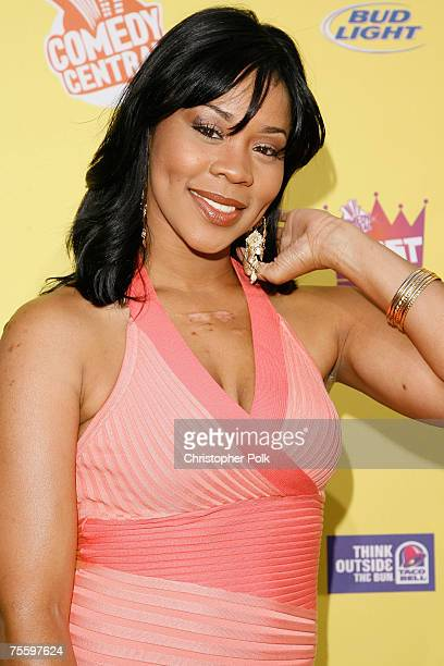 Deelishis arrives to The Comedy Central Roast of Flavor Flav at Warner Bros Studios on July 22 2007 in Burbank California