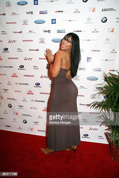 Deelishis attend the 12th Annual Urban Wheel Awards at the Fox Theatre on January 15 2008 in Detroit MI