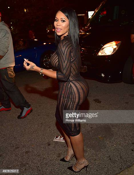 Deelishis attends Jeezy's Birthday Celebration at Gold Room on October 8 2015 in Atlanta Georgia