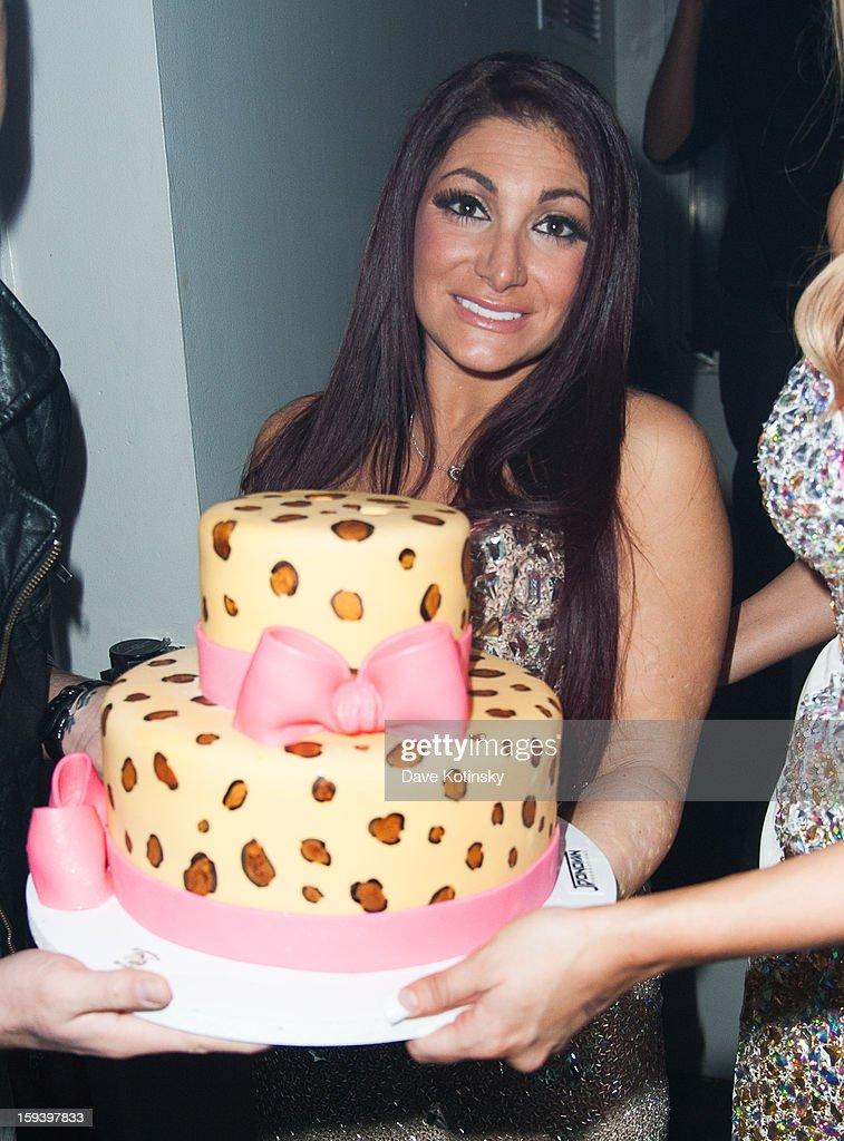 Deena Nicole Cortese attends Deena Nicole Cortese Birthday Celebration at Sky Room on January 12, 2013 in New York City.
