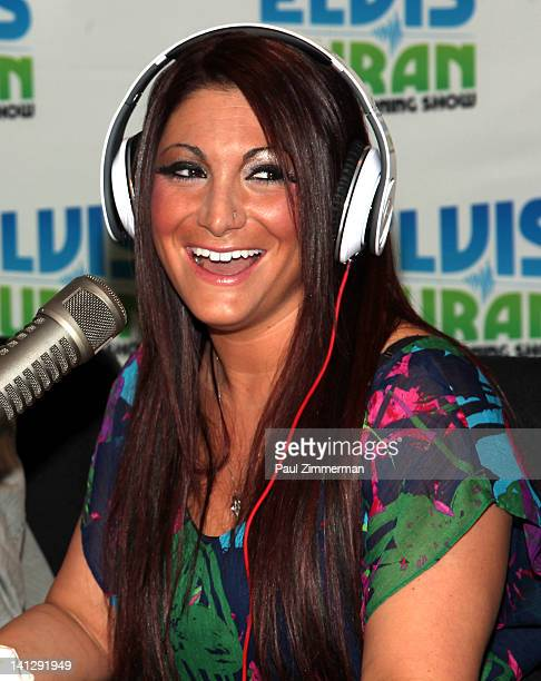 Deena Nicole Cortese visits The Elvis Duran Z100 Morning Show at Z100 Studio on March 14 2012 in New York City