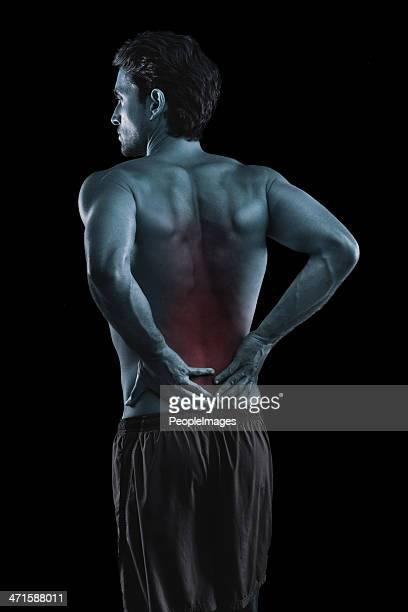 Deep back pain