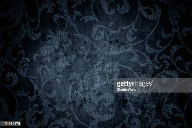 deep blue grunge background - baroque stock pictures, royalty-free photos & images
