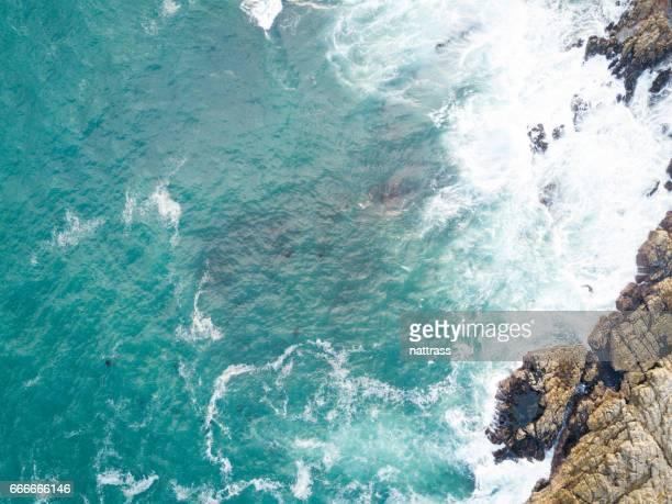 Deep blue Indian Ocean