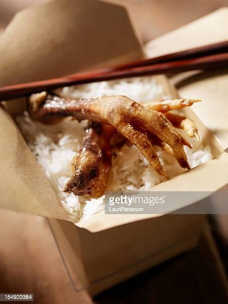 Deep Fried Chickens Feet