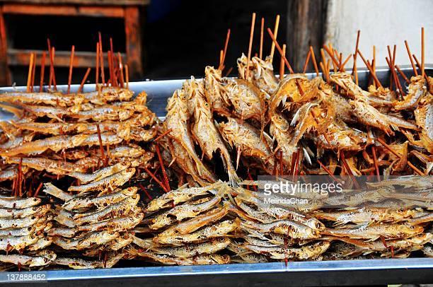 Deep fried fish sticks
