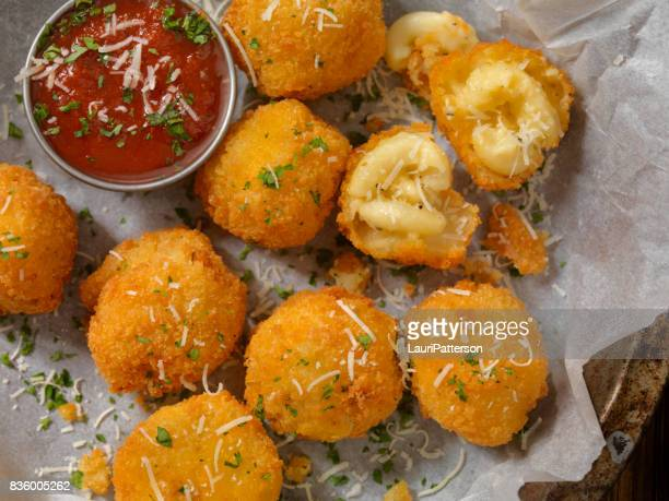 Deep Fried Macaroni and Cheese Balls