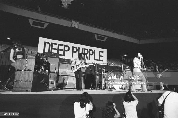 Deep Purple at Nippon Budokan August 17th 1972