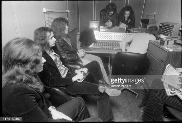 Deep Purple, recording studio in Montreux 1973