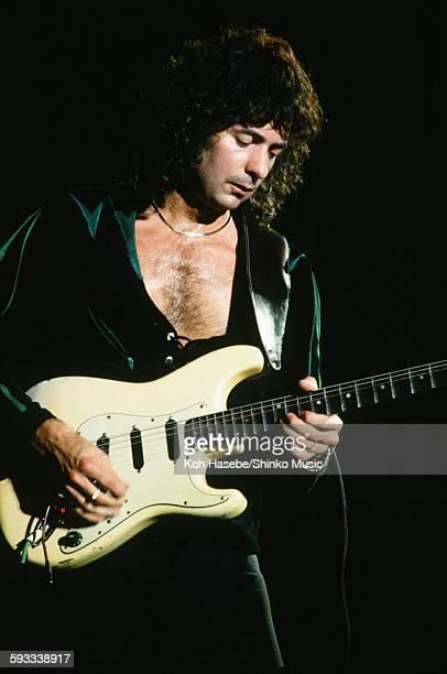 Deep Purple Ritchie Blackmore live at Nippon Budokan Tokyo May 1985