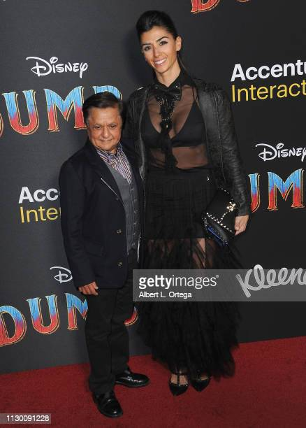 Deep Roy and guest attends the premiere of Disney's Dumbo at El Capitan Theatre on March 11 2019 in Los Angeles California