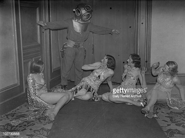 Deep sea diver and dancers 1930s Comprising over 3 million photographs and covering a period from 1911 to the mid1960s the photographic archive of...