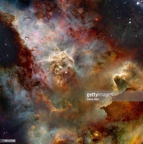 deep space nebula - nevels en gaswolken stockfoto's en -beelden