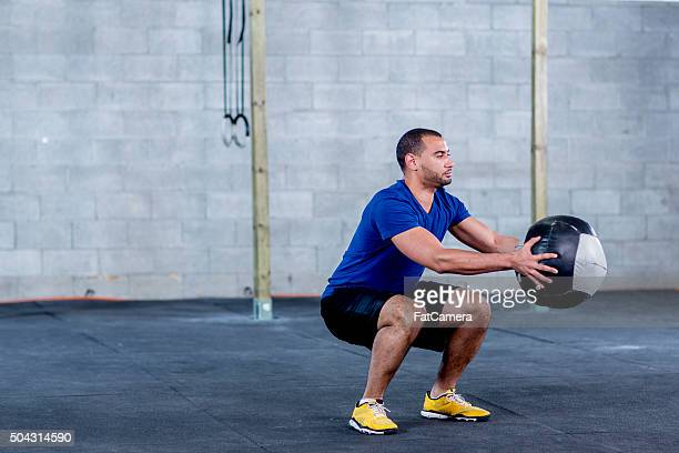 deep squats - balls deep stock photos and pictures