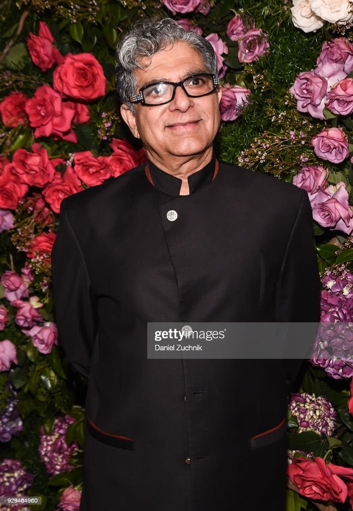 Deepak Chopra attends the 2018 Maestro Cares Gala at Cipriani Wall Street on March 8, 2018 in New York City.