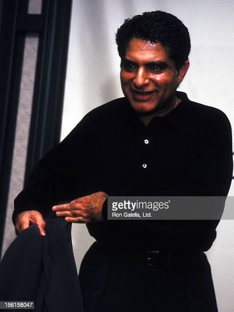 Deepak Chopra Autographs Copies Of His New Book The Love