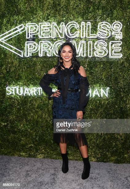 Deepica Mutyala attends the 2017 Pencils of Promise Gala at Central Park on December 7 2017 in New York City