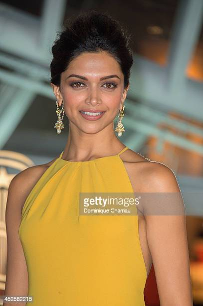 Deepika Padukone arrives at the opening ceremony of the 13th Marrakesh International Film Festival on November 29 2013 in Marrakech Morocco