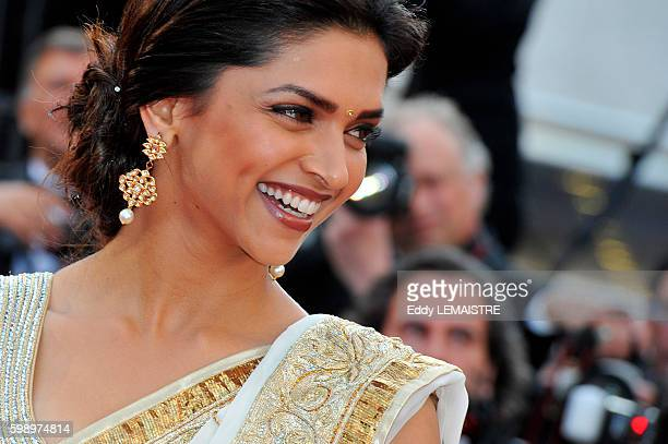 Deepika Padukone at the premiere of On Tour during the 63rd Cannes International Film Festival