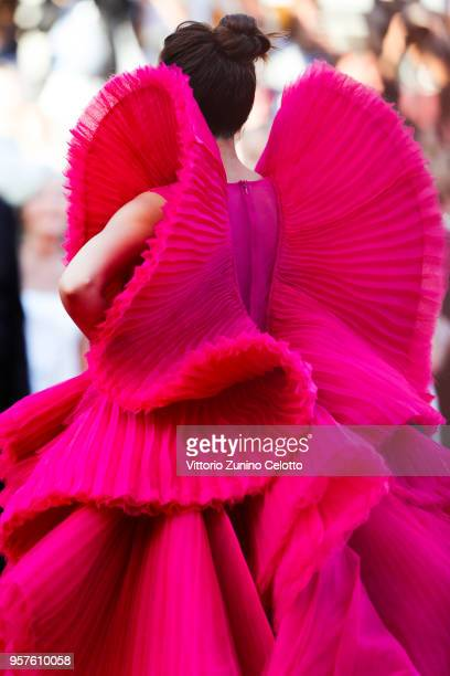 Deepika Padukone attends attend the screening of 'Ash Is The Purest White ' during the 71st annual Cannes Film Festival on May 11 2018 in Cannes...