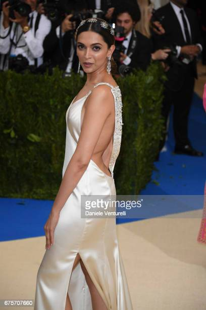 Deepika Padukone attends 'Rei Kawakubo/Comme des Garcons Art Of The InBetween' Costume Institute Gala Arrivals at Metropolitan Museum of Art on May 1...