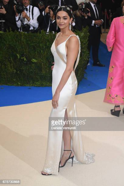 Deepika Padukone attends Rei Kawakubo/Comme des Garcons Art Of The InBetween Costume Institute Gala Arrivals at Metropolitan Museum of Art on May 1...