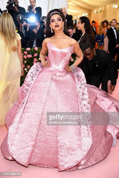Deepika Padukone attends The 2019 Met Gala Celebrating Camp Notes on Fashion at Metropolitan Museum of Art on May 06 2019 in New York City