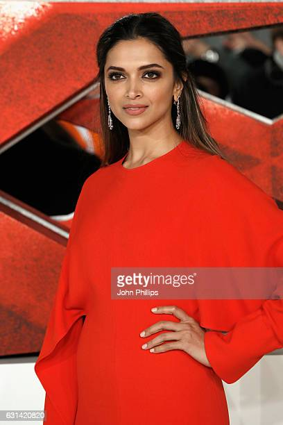 Deepika Padukone attends the European premiere of 'xXx' Return of Xander Cage' at Cineworld 02 Arena on January 10 2017 in London United Kingdom
