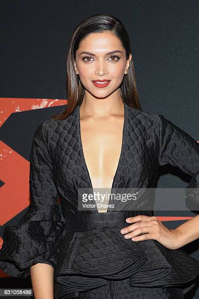 Deepika Padukone attends the Mexico City Premiere of the Paramount Pictures xXx Return of Xander Cage at Auditorio Nacional on January 5 2017 in...