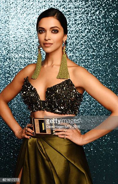 Deepika Padukone attends the MTV Europe Music Awards 2016 on November 6 2016 in Rotterdam Netherlands