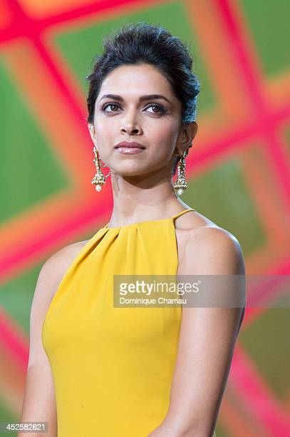 Deepika Padukone attends the opening ceremony of the 13th Marrakesh International Film Festival on November 29 2013 in Marrakech Morocco
