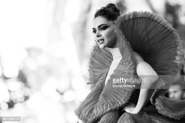 Deepika Padukone attends the screening of 'Ash Is The Purest White ' during the 71st annual Cannes Film Festival at on May 11 2018 in Cannes France