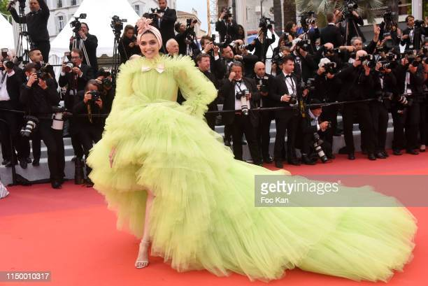 Deepika Padukone attends the screening of Pain And Glory during the 72nd annual Cannes Film Festival on May 17 2019 in Cannes France Photo by Foc...