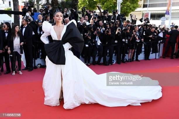 Deepika Padukone attends the screening of Rocketman during the 72nd annual Cannes Film Festival on May 16 2019 in Cannes France