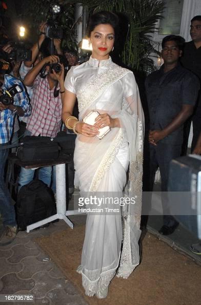 Deepika Padukone during the 50th Birthday party of Sanjay ...