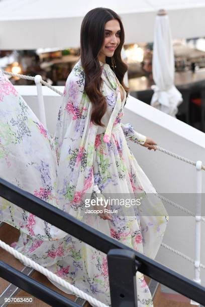 Deepika Padukone is seen during the 71st annual Cannes Film Festival at on May 10 2018 in Cannes France