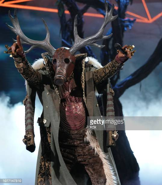 Deer in the Mask On Face Off series premiere of THE MASKED SINGER airing Wednesday Jan 2 on FOX