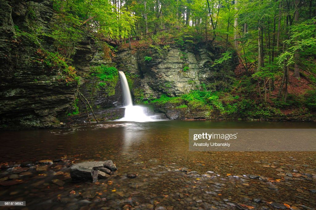 Deer Leap Falls High Res Stock Photo Getty Images