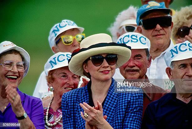 Deerfield Beach Florida 3211994 First Lady Hillary Rodham Clinton addresses the Heath Care Forum at the Century Village retirement community Credit...