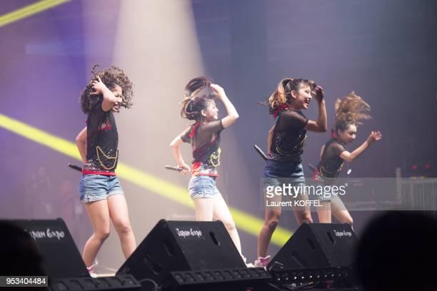 Dee'Z pendant le 14eme salon Japan Expo de Villepinte le 6 juillet 2013 Paris France