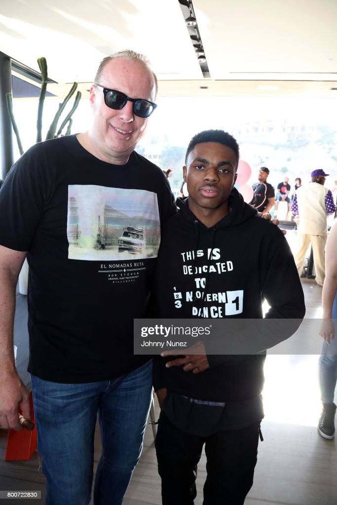 Def Jam CEO Steve Bartels and Vince Staples attend a Def Jam