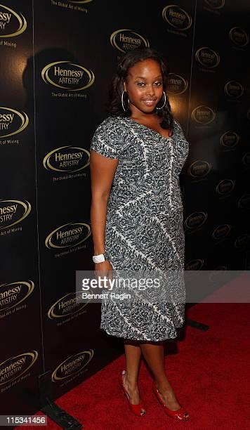 Def Jam recording artist Chrisette Michele at the Hennessy Artistry Concert Tour Nikki Beach Manhattan October 2 New York New York