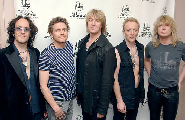 2005 spike tv video game awards backstage and audience photos and def leppard during 2005 spike tv video game awards backstage and audience at gibson amphitheater m4hsunfo