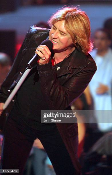 Def Leppard during 2005 Spike TV Video Game Awards Show at Gibson Amphitheater in Universal City California United States