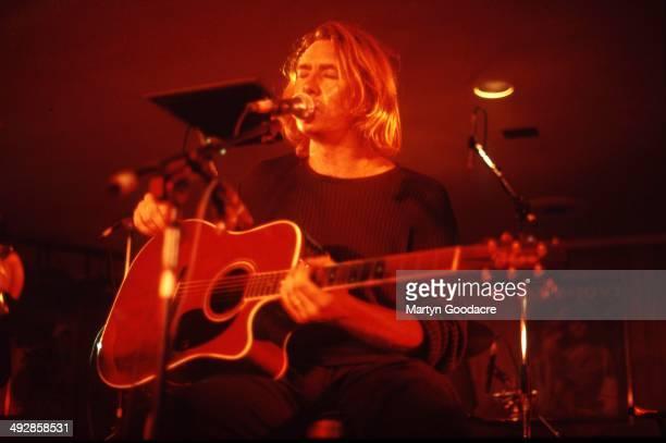 Def Leppard perform an acoustic show at Wapentake Club Sheffield United Kingdom 5th October 1995 Joe Elliott
