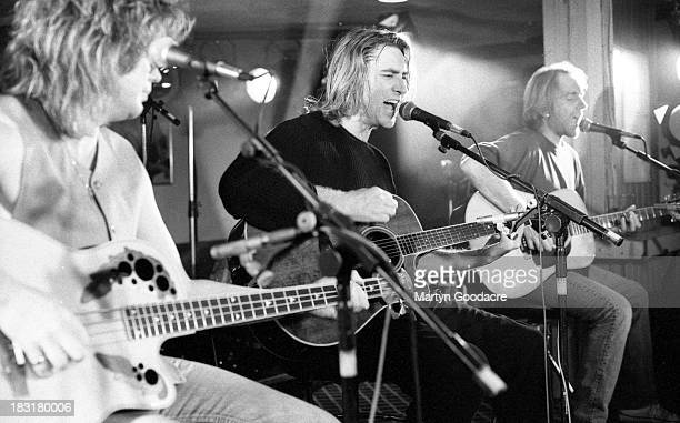 Def Leppard perform on stage at Wapentake Club Sheffield United Kingdom October 1995