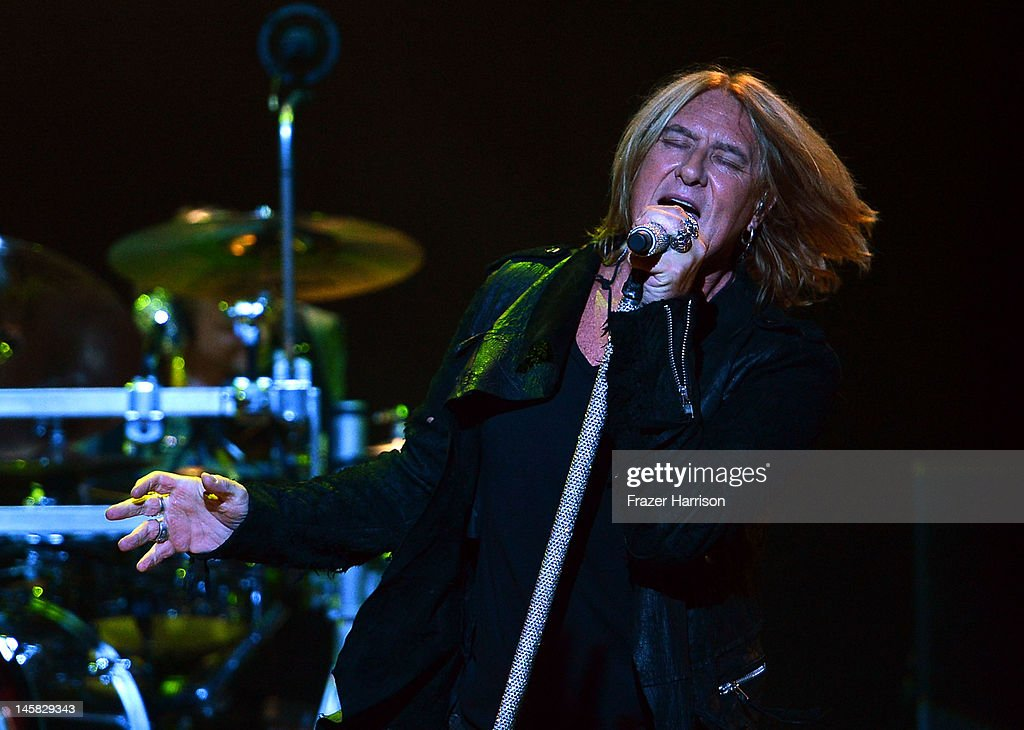 Def Leppard's Joe Elliott performs at YouTube Presents Def Leppard At The House Of Blues at House of Blues Sunset Strip on June 6, 2012 in West Hollywood, California.