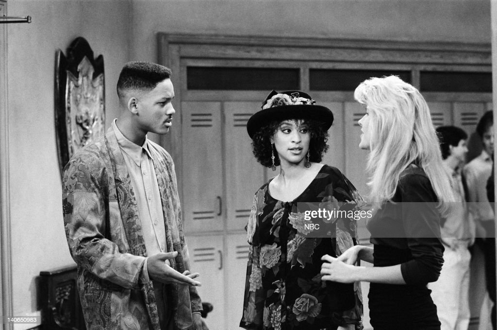 AIR -- 'Def Poet's Society' Episode 7 -- Pictured: (l-r) Will Smith as William 'Will' Smith, Karyn Parsons as Hilary Banks -- Photo by: Ron Tom/NBCU Photo Bank