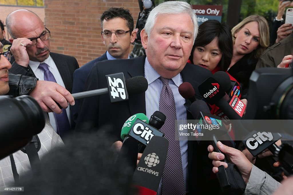 Marco Muzzo's Lawyer Brian Greenspan Outside Courthouse : ニュース写真